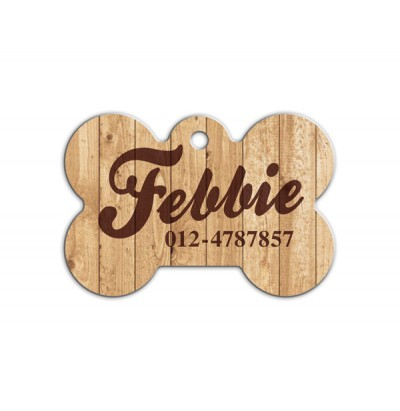 Bone Shape Pet Tag ( BN-002 )
