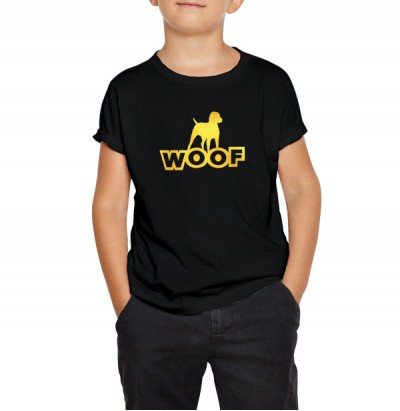 Dog Woof ( K ) - Gold Foil